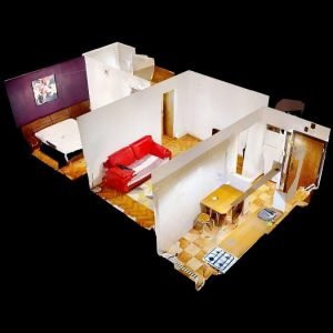 Dristor-2-Camere-Dollhouse-View